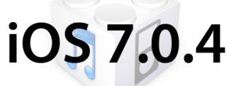 L'iOS 7.0.4 est disponible au téléchargement [liens directs]
