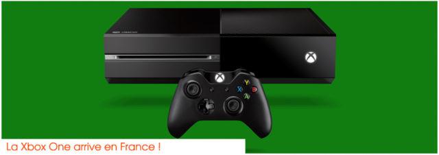 Sortie de la Xbox One