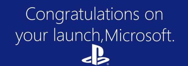 Sony félicite à son tour Microsoft pour l'arrivée de la Xbox One!