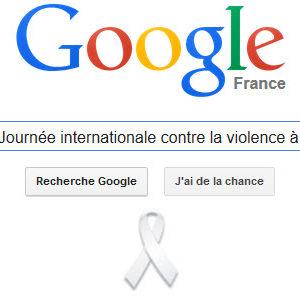 Google célèbre Journée internationale pour l'élimination de la violence à l'égard des femmes [Doodle]