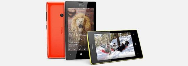 Nokia officialise le successeur du Nokia 520, le Nokia 525