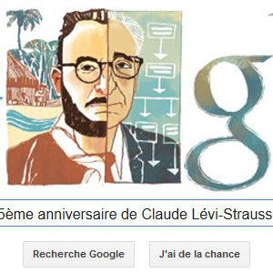 Google fête le 105ème anniversaire de Claude Lévi-Strauss [Doodle]
