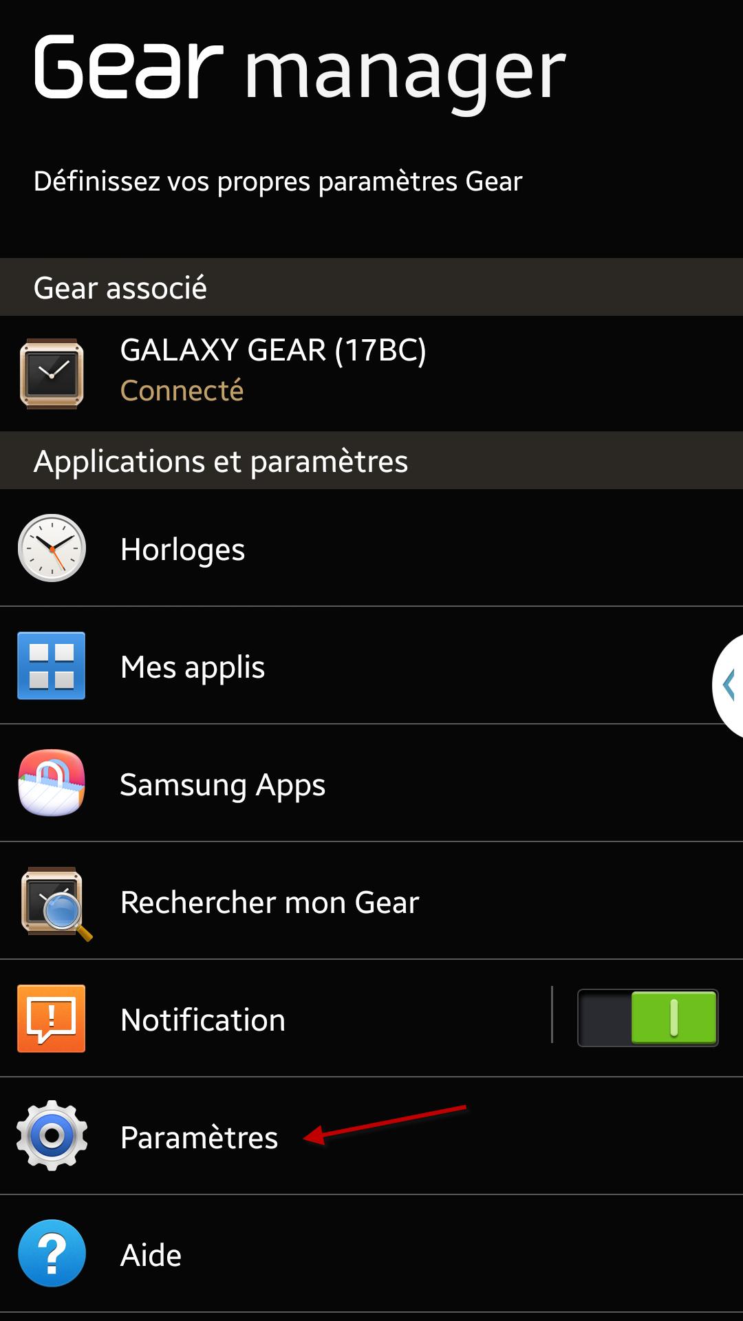 Comment paramétrer l'envoi d'un message d'urgence sur ma montre Galaxy Gear? #GalaxyGearExperience