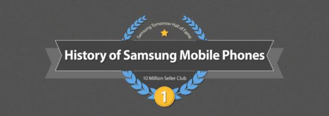 Le club des mobiles Samsung vendus à 10 millions d'exemplaires et plus