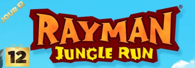 12 jours cadeaux iTunes 2013 – Jour 7 : le jeu Rayman Jungle Run