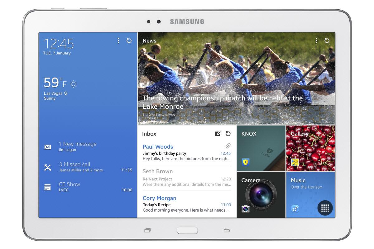 #CES2014 : Samsung officialise la Galaxy Tab Pro 10.1 pouces