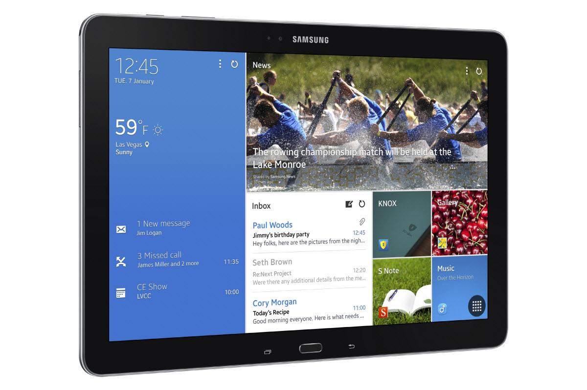 #CES2014 : Samsung officialise la Galaxy Tab Pro 12.2 pouces