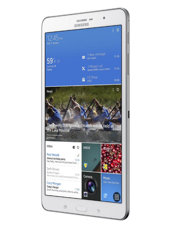 #CES2014 : Samsung officialise la Galaxy Tab Pro 8.4 pouces