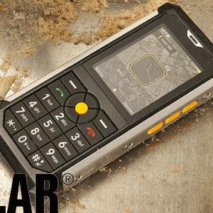 #CES2014 : Caterpillar présente le CAT B100, son nouveau mobile ultra résistant