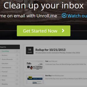 Désabonnez-vous des newletters automatiquement grâce à Unroll.me