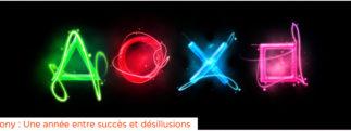 Sony : Une année entre succès et désillusions