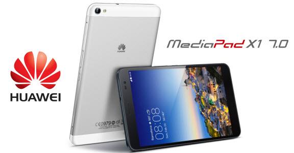 #MWC2014 - Huawei présente la MediaPad X1, une phablette 7 pouces incroyable!