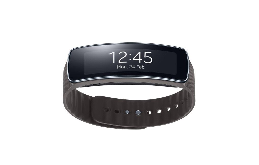 #MWC2014 - Samsung lance le Gear Fit, un bracelet connecté à écran incurvé