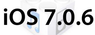 L'iOS 7.0.6 (et iOS 6.1.6 pour le 3GS) est disponible au téléchargement [liens directs]