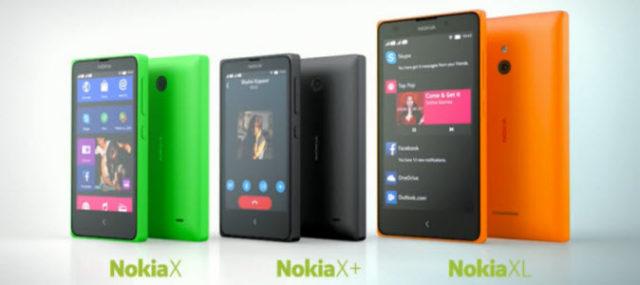 #MWC2014 - Nokia X, Nokia X+, Nokia XL, des Lumia mais sous Android!