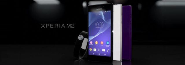 #MWC2014 - Sony lance le Xperia M2, un milieu de gamme 4G à 300€