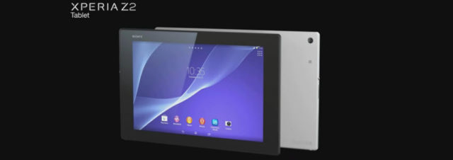 #MWC2014 - Sony officialise la Xperia Z2 Tablet, une tablette de 10 pouces la plus fine du monde