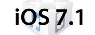 L'iOS 7.1 est disponible au téléchargement [liens directs]