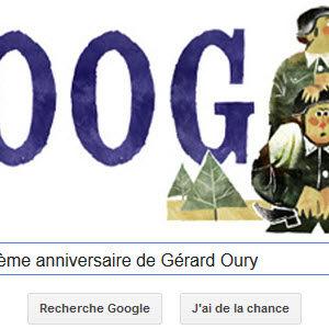 Google fête le 95ème anniversaire de Gérard Oury [Doodle]