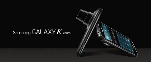 Samung présente le Galaxy K Zoom, son nouveau photophone