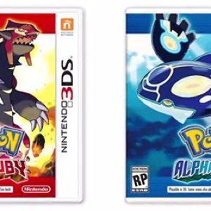 De nouvelles aventures de Pokémon en novembre 2014 : Pokémon Rubis Oméga et Pokémon Saphir Alpha