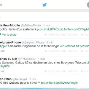 Twitter : encore une interface avec cette fois, l'ajout d'une troisième colonne
