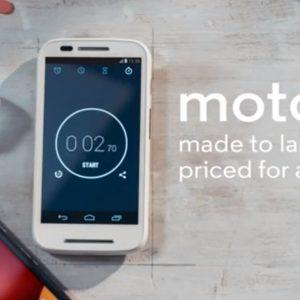 Motorola lève le voile sur le Moto E qui sera commercialisé à 119€