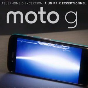 Motorola annonce l'arrivée d'un Moto G version 4G/LTE