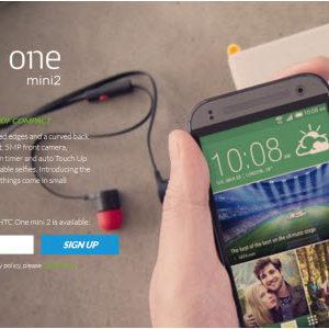 HTC dévoile le petit frère du HTC One (M8), le HTC One Mini 2 à 449€