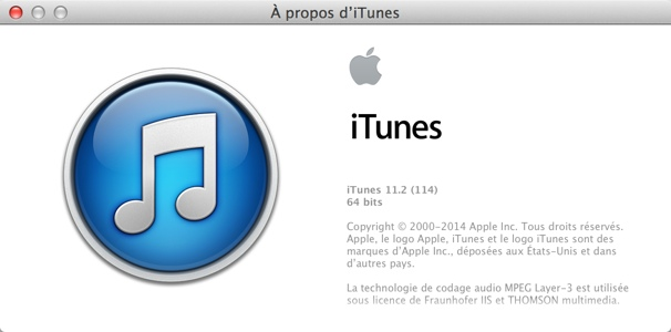 iTunes 11.2 est disponible au téléchargement