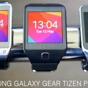 La première Galaxy Gear passe d'Android vers Tizen