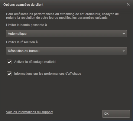 Steam - Test du Streaming Local