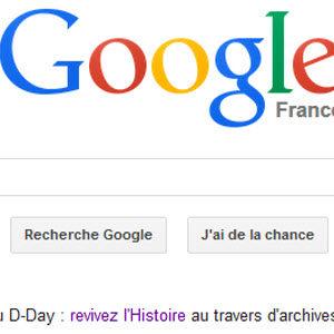 #Doodle - La bévue de Google pour 70ème anniversaire du débarquement!