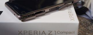 Sony Xperia Z1 Compact : prise en main