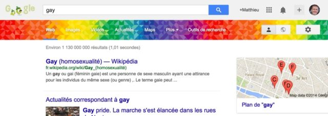 Gay Pride : tapez
