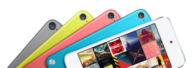 L'iPod Touch 5G : le modèle 16 Go évolue et toute gamme baisse de prix