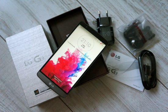 LG G3 : prise en main