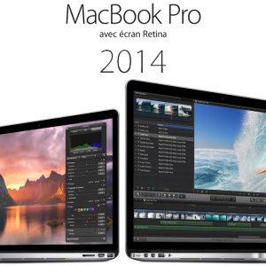 Apple présente ses nouveaux MacBook Pro Rétina 2014