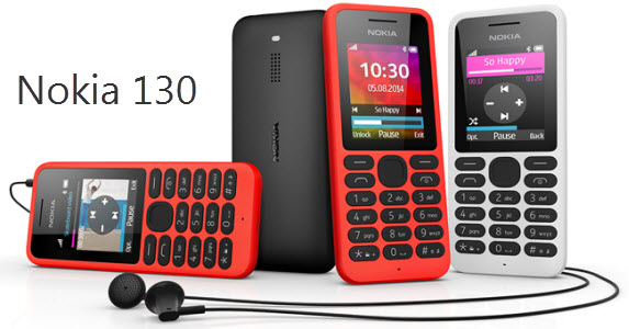 Microsoft Devices Group lance le Nokia 130, un mobile à 19€!