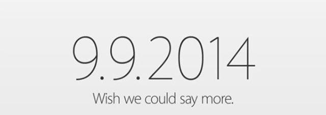 #Apple confirme la Keynote du 9 septembre 2014