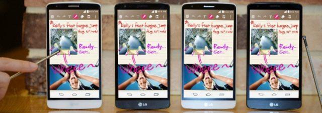 LG annonce officiellement son LG G3 Stylus