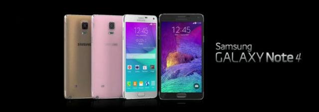 #IFA2014 – Samsung présente le Galaxy Note 4