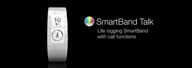#IFA2014 - Sony présente son second bracelet connecté, le SmartBand Talk
