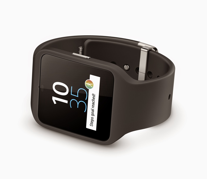 sony smartwatch 3 montre sous android wear unsimpleclic. Black Bedroom Furniture Sets. Home Design Ideas