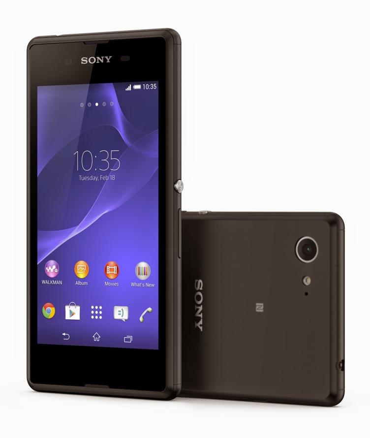 Sony Xperia E3 Noir