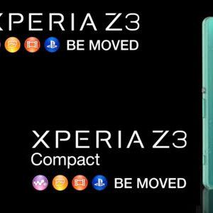 #IFA2014 - Sony dévoile les Xperia Z3 et Xperia Z3 Compact