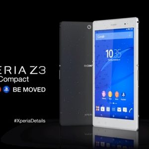 #IFA2014 - Sony dévoile l'Xperia Z3 Tablet Compact