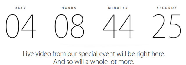 #iPhone6 - Apple retransmettra sa Keynote en direct le 9 septembre prochain à 19h