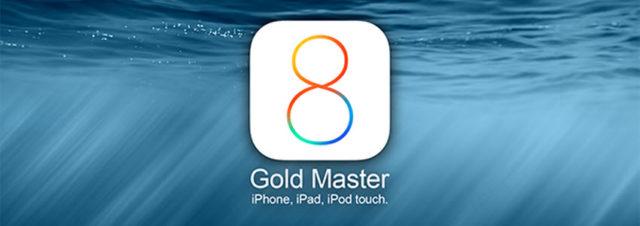 L'iOS 8 GM