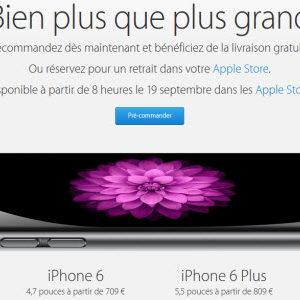 #iPhone6 : les pré-commandes sont ouvertes!
